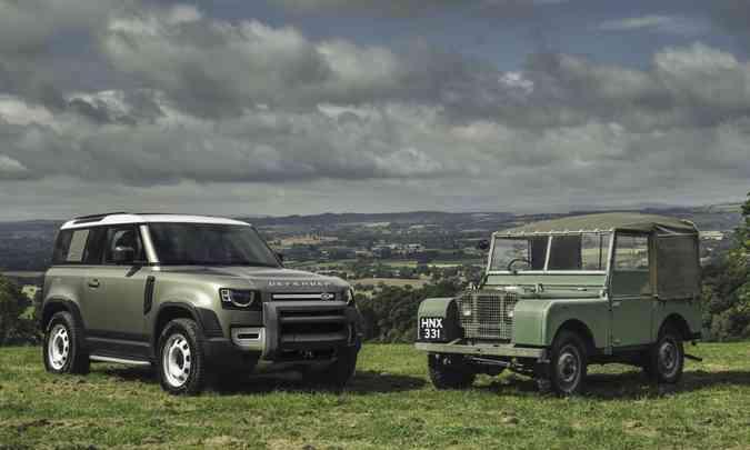 Novo Land Rover Defender 90 encara o passado(foto: Land Rover/Divulgação)