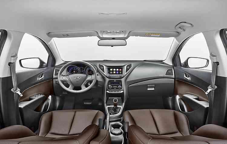 Principal novidade fica por conta da central blueMedia, disponível para todos os modelo. Foto: Hyundai / Divulgação -