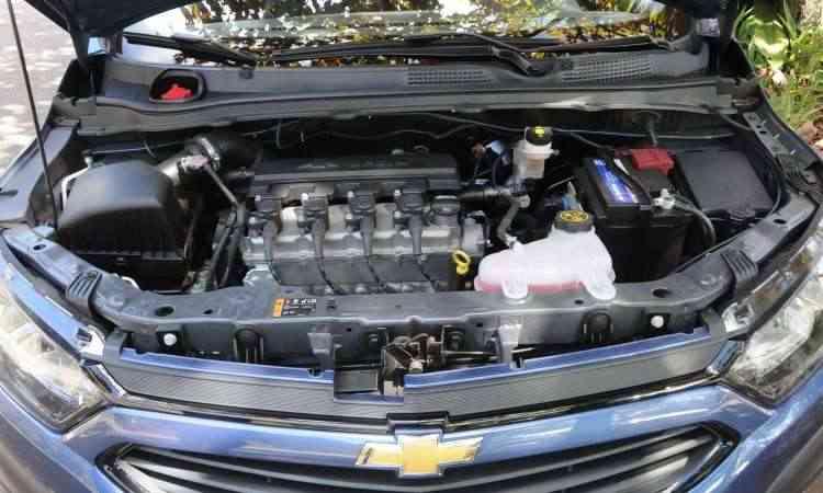 Motor 1.4 desenvolve potência máxima de 106cv e torque de 13,9kgfm, com etanol - Paulo Filgueiras/EM/D.A Press