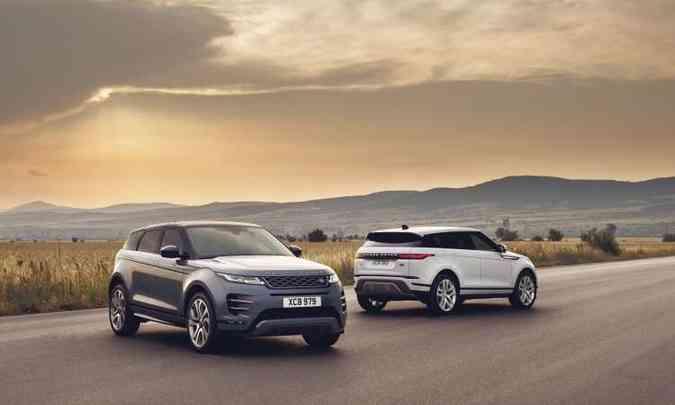 Nova geração do SUV compacto foi totalmente atualizada, ganhando retoques no visual(foto: Land Rover/Divulgação)