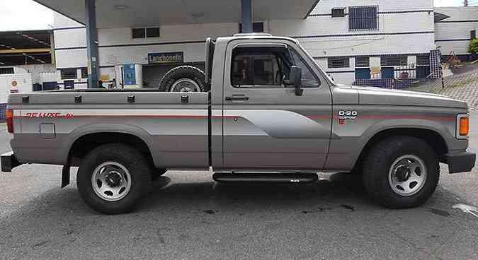 Vendedor garante autenticidade e diz que D-20 está neste estado de fábrica(foto: Cláudio Sperandio/Divulgação)