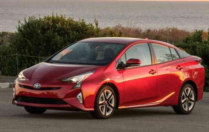 Prius é um dos modelos convocados pela Toyota. Foto: Toyota/Divulgação(foto: Toyota/Divulgação)