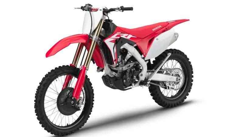 A CRF 250RX tem motor com duplo comando e válvulas de titânio - Honda/Divulgação