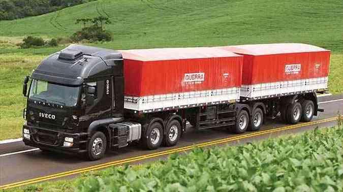 A última categoria é voltada para veículos que comportam cargas maiores(foto: Iveco/Divulgação)