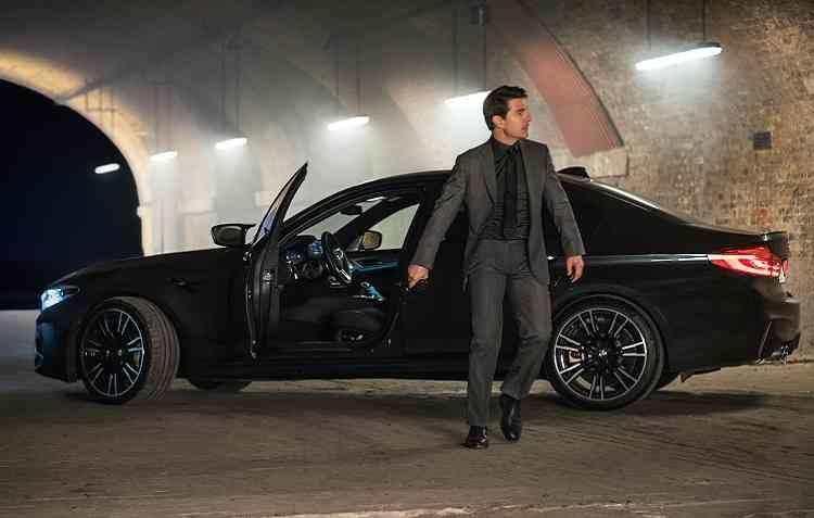 BMW M4 dividirá espaço nas telonas com Tom Cruise. Foto: BMW / Divulgação -