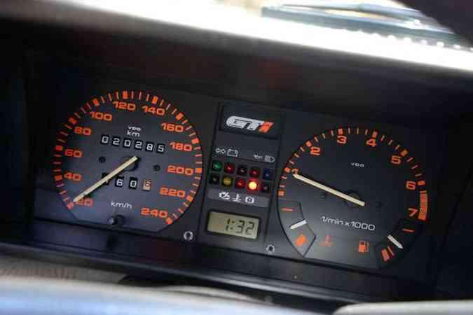 Há 20 anos na família e apenas 20.285 km rodados!(foto: Thiago Ventura/EM/D.A Press)