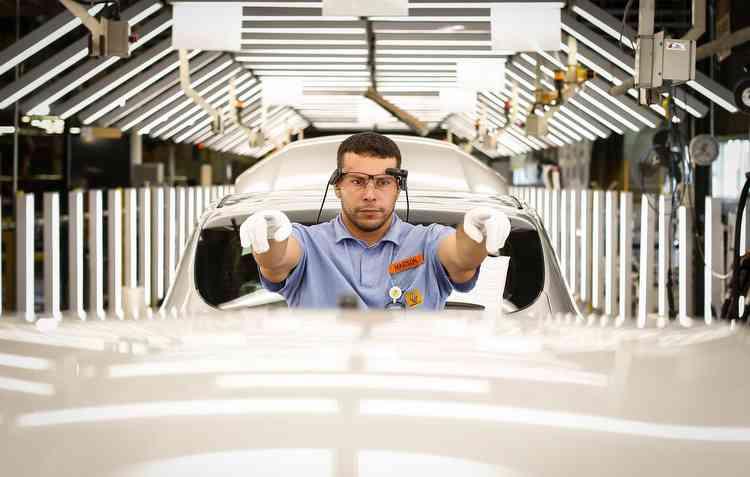 Complexo da Renault em São José dos Pinhais recebeu mais uma fábrica de componentes de motor. Foto: Rodolfo Buhrer/Divulgação -
