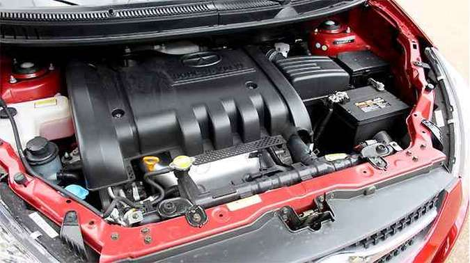 Motor é o 2.0 16V a gasolina rendem 136 cv