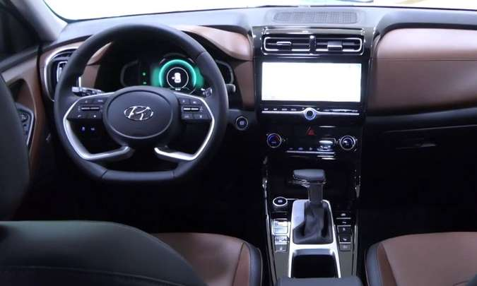 Interior do Hyundai Creta vendido no mercado russo(foto: Creative Commons/Reprodução)