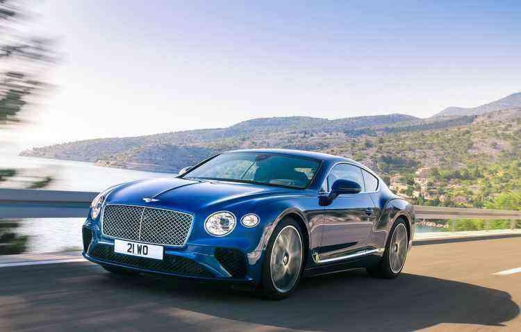 Bentley apresentará a nova geração do Continental GT - Bentley/Divulgação