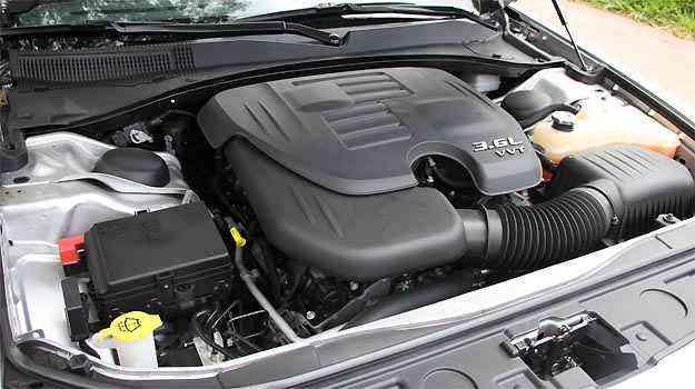 O novo motor Pentastar 3.6 ganhou 37cv em relação ao anterior -