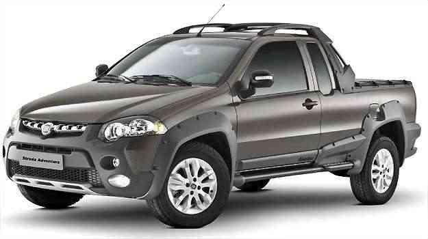 Linha 2013 da Strada deve chegar em breve nas concessionárias Fiat, quase sem nenhuma mudança estética - Fiat/Divulgação