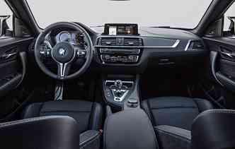 Novidade conta com opções para melhora o prazer na direção. Foto: BMW / Divulgação