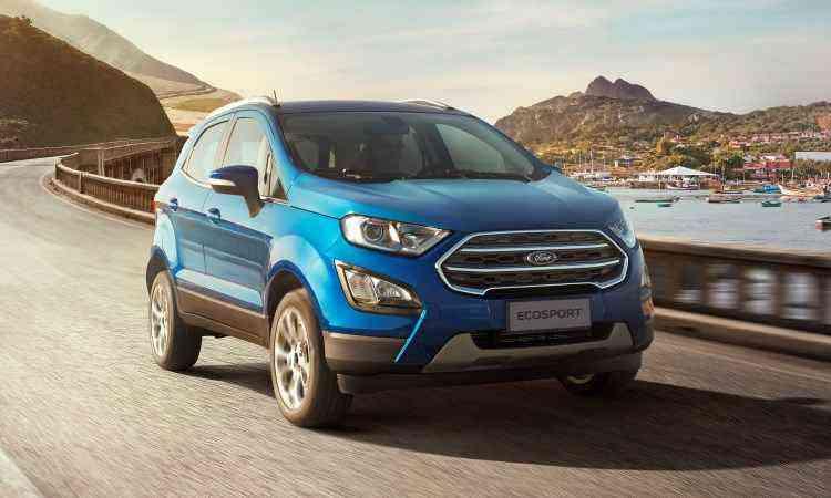 Ford EcoSport Titanium - Ford/Divulgação