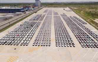 Já são 18 meses seguidos de crescimento na produção de veículos no Brasil. Foto: Suape / Divulgação