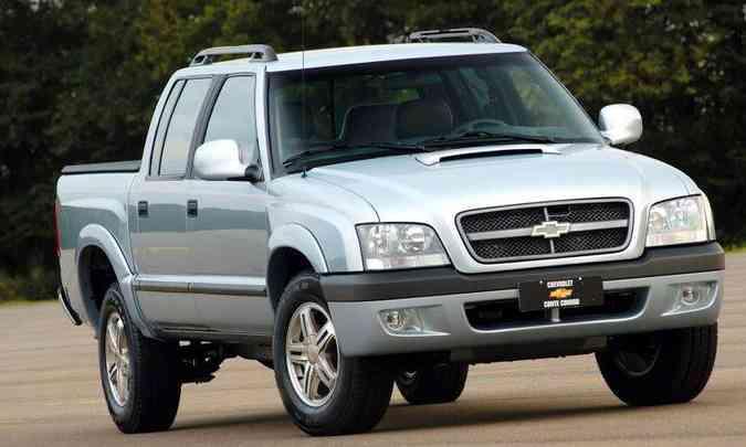 Em 2005 design já começa a ficar 'bagunçado'(foto: Chevrolet/Divulgação)