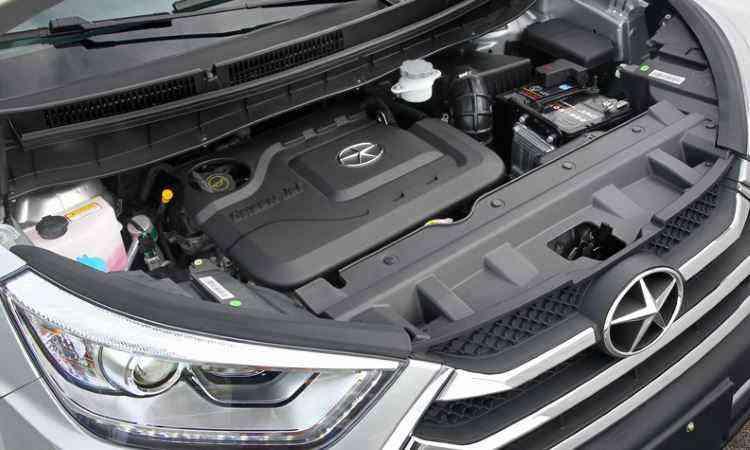 Motor 1.5 16v VVT é o mesmo do J3S e J3S Turin - Divulgação/JAC