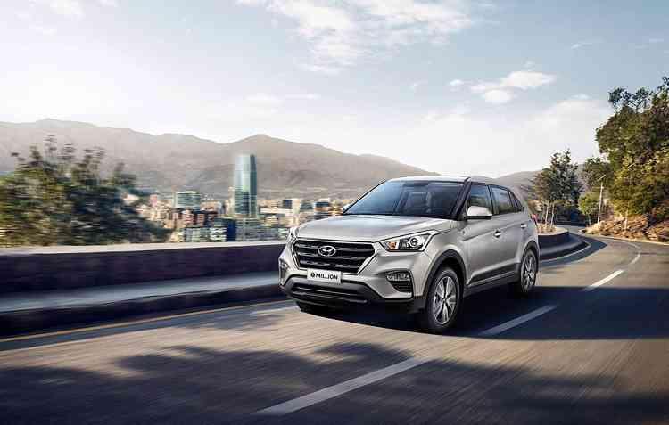 Hyundai Creta recebeu um visual exclusivo para a versão 1 Million. Foto: Hyundai / Divulgação -