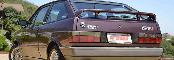 Volkswagen Gol GTi 1994 impressiona com apenas 20 mil quilômetros rodados(foto: Thiago Ventura/EM/D.A Press)