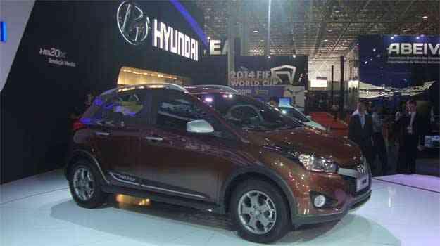 Hyundai HB20x começa a ser vendido em janeiro de 2013 no Brasil - Paula Carolina/EM/D.A PRESS