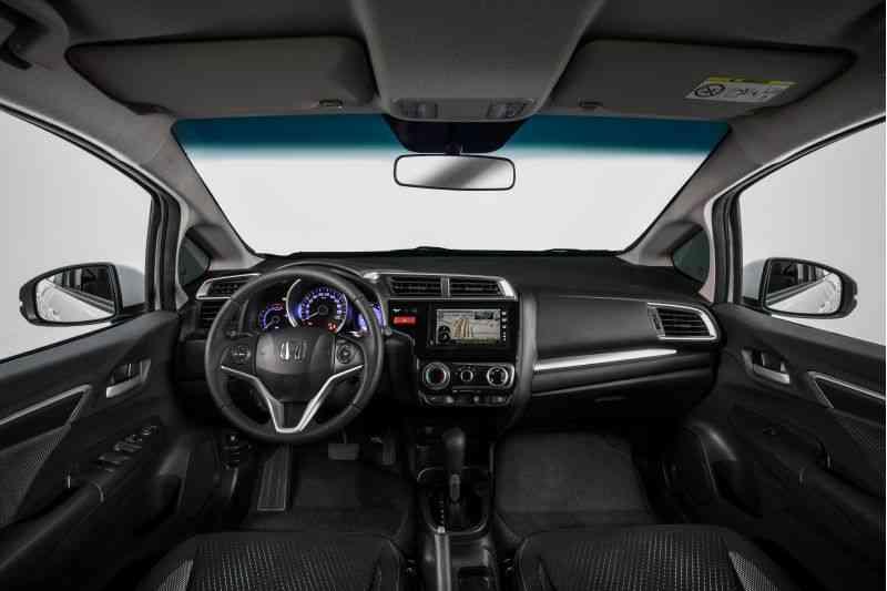 Interior do Honda WR-V - Fotos: Honda/Divulgação