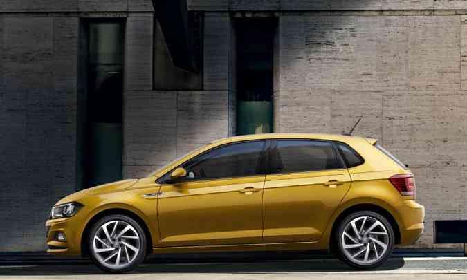 Este modelo de roda, com aro de 17 polegadas, é opcional(foto: Volkswagen/Divulgação)