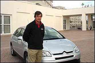 Rambaud: teremos o dobro de modelos Peugeot e Citroën até 2012(foto: Paula Carolina/Especial para o EM)