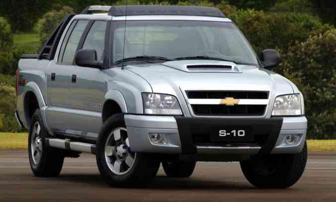 Chevrolet S10 em 2009(foto: Chevrolet/Divulgação)