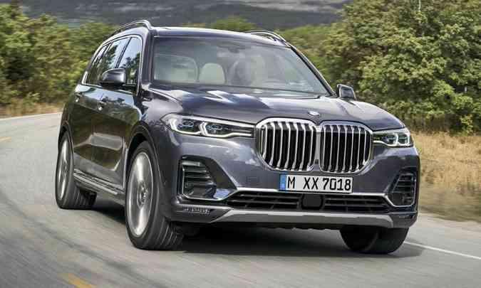 O SUV grandalhão BMW X7 já pode ser encomendado(foto: Rodrigo Ruiz/BMW/Divulgação)