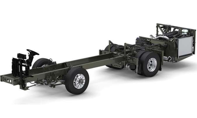 Motor traseiro de 11 litros é o mesmo que equipa o mais potente B340R(foto: Divulgação/Volvo)