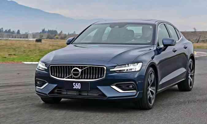 A versão T5 Inscription tem motor de 254cv, que garante bom desempenho (foto: Volvo/Divulgação)