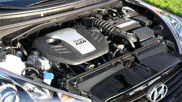 Motor 1.6 Turbo com injeção direta rende 204 cv de potência - Marcello Oliveira/EM/D.A PRESS