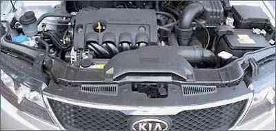 Motor 16V confere bom desempenho o sedã Cerato - Marlos Ney Vidal/EM/D.A Press
