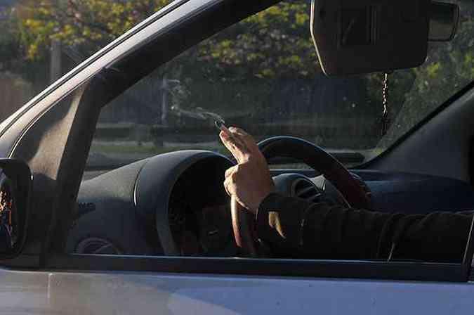 Além de um hábito não saudável, fumar também dá multa?(foto: Marcos Michelin/EM/D.A Press - 10/10/13)