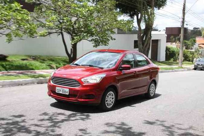 Ford Ka 1.0 2014Marlos Ney Vidal/EM/D.A Press