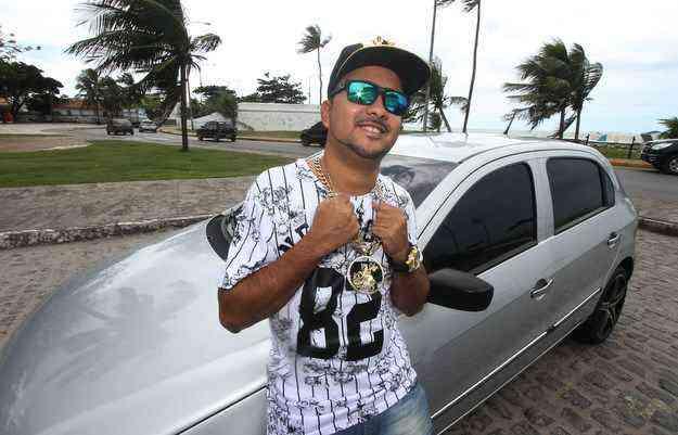 MC Leozinho, chegou a trocar dez vezes de carro em apenas cinco meses - Julio Jacobina/DP/D.A Press