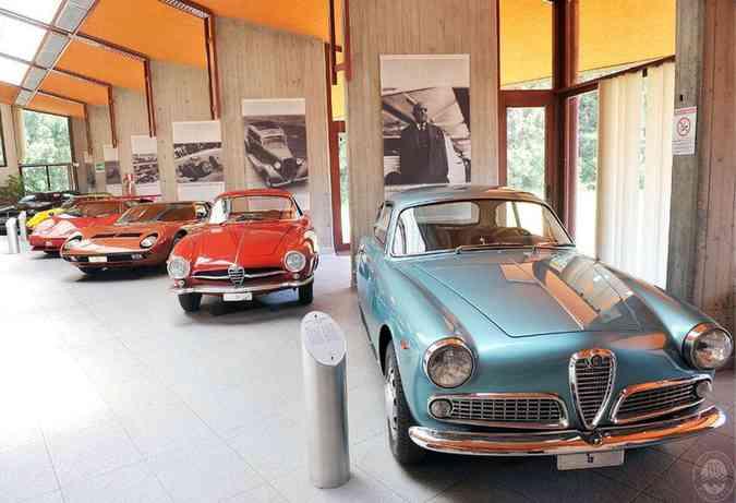 Acervo de veículos do Estúdio Bertone, na ItáliaReprodução/Sivag.com