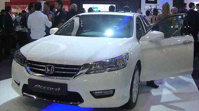 Novo Honda Accord(foto: Paula Carolina/EM/D.A PRESS)