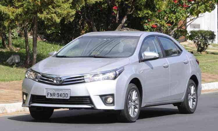 Toyota Corolla - Jair Amaral/EM/D.A Press - 20/5/14