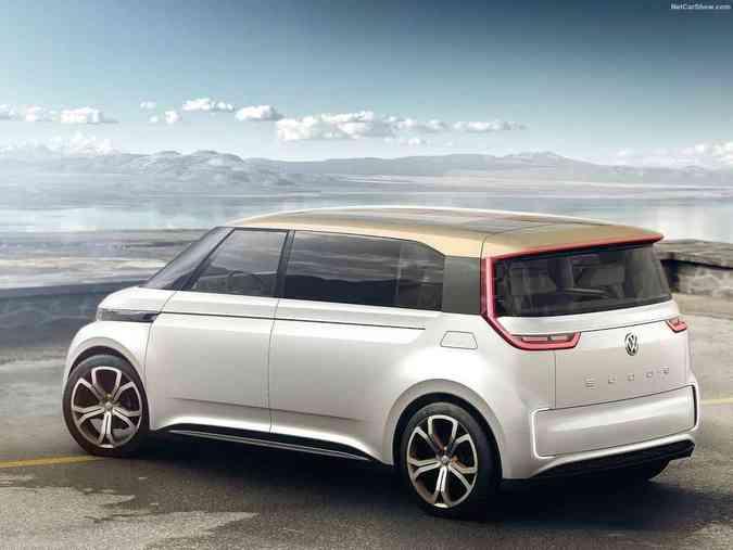 Volkswagen Budd-e 2016Volkswagen/Divulgação