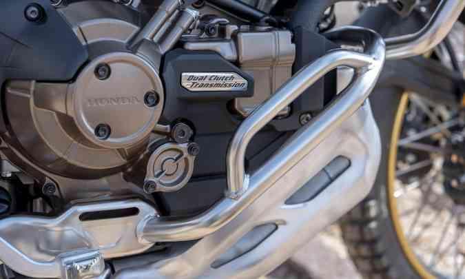 O motor de todas as versões saltou de 1.000cm³ para 1.100cm³(foto: Caio Mattos/Honda/Divulgação)