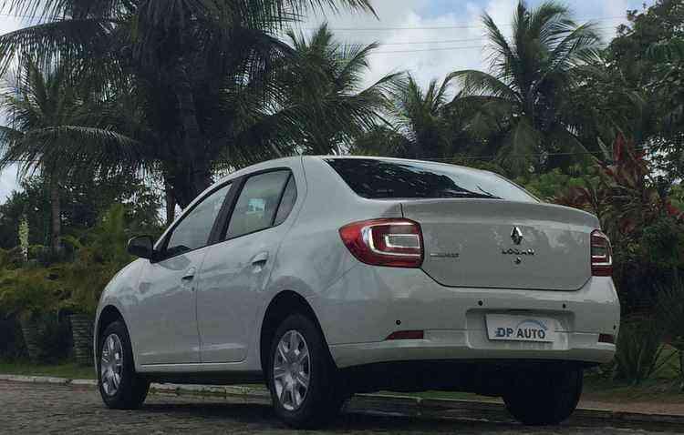 Visual não apresenta novidades, mas o carro manda bem no quesito espaço interno - Thainá Nogueira / ESP DP
