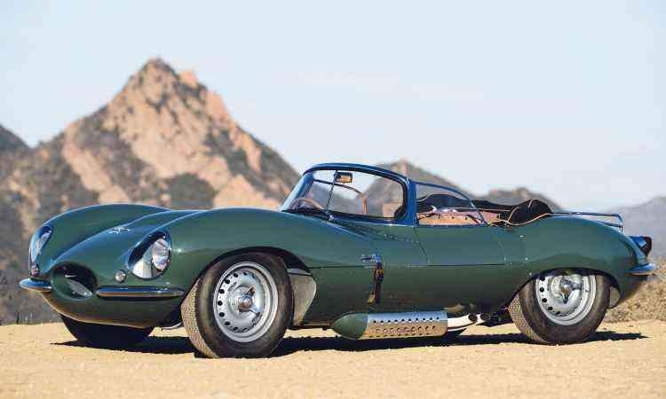 O Jaguar XKSS é a versão de rua do D-Type, modelo que competiu nas pistas entre 1954 e 1956 e chegou a vencer em LeMans - Jaguar/Divulgação