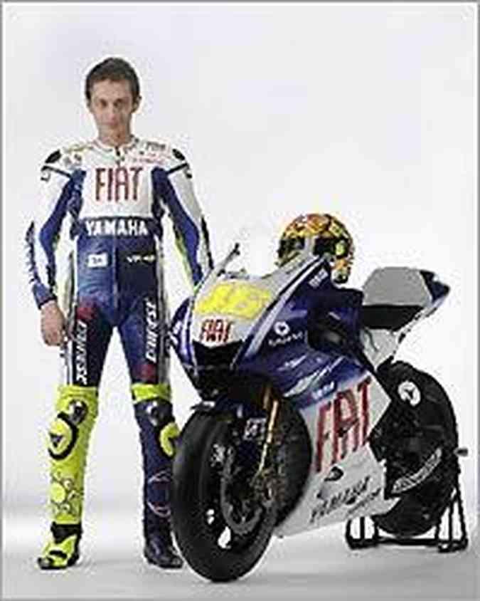 Valentino Rossi já acumula sete títulos da principal categoria do motociclismo mundial