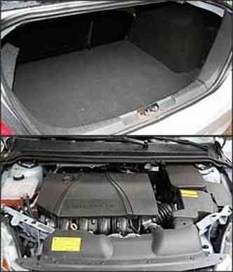 Capacidade do porta-malas é de 526 litros. Motor 2.0 vai ganhar sistema flex em breve