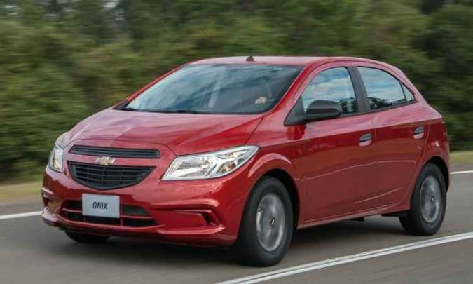 Chevrolet Onix(foto: Chevrolet/Divulgação)