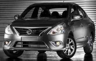 Nissan Versa é o mais barato nos Estados Unidos(foto: Nissan/Divulgacao)