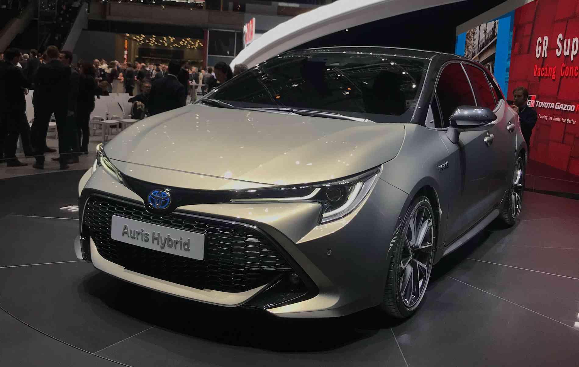 Toyota Auris hybrid durante o Salão de Genebra, na Suíça. - Jorge Moraes/DP