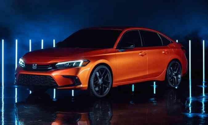 Honda Civic Prototype, foi revelado em novembro de 2020(foto: Honda/Divulgação)