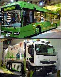 Ônibus híbrido da Volvo já está pronto para comercialização na Europa. Renault Premium Distribution Hybrys Tech é a aposta da marca para o futuro -